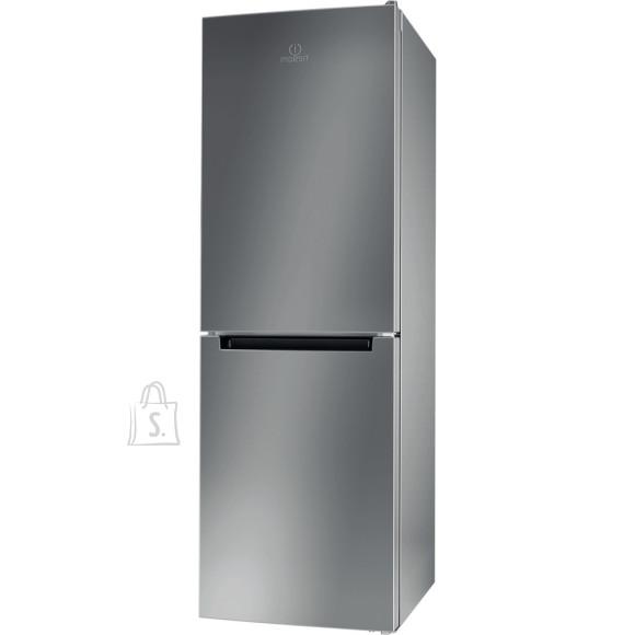 Indesit INDESIT Refrigerator LI7 SN1E X Energy efficiency class F, Free standing, Combi, Height 176.3 cm, No Frost system, Fridge net capacity 197 L, Freezer net capacity 98 L, 40 dB, Inox