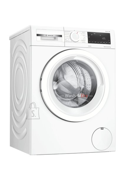 Bosch Bosch Serie 4 Washing Machine With Dryer WNA134L0SN Energy efficiency class C, Front loading, Washing capacity 8 kg, 1400 RPM, Display, LED, Drying system, Drying capacity 5 kg, Steam function, White
