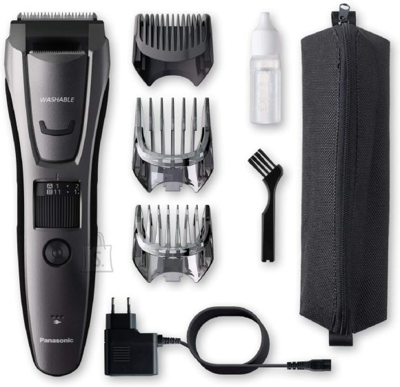 Panasonic Panasonic Beard and hair trimmer ER-GB80-H503 Operating time (max) 50 min, Number of length steps 39, Step precise 0.5 mm, Ni-MH, Black, Corded/ Cordless