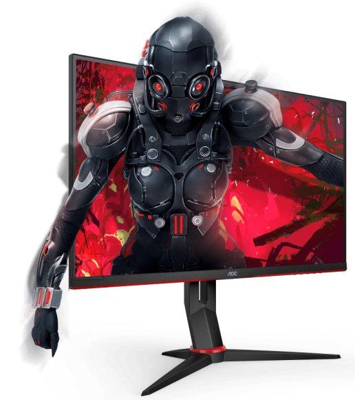 "AOC AOC 27G2U/BK 27"" Gaming LCD, 16:9/1920×1080 PX/250cd/m2/1ms/80M:1/DisplayPort, VGA, HDMI"