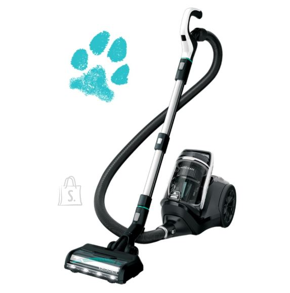 Bissell Bissell SmartClean Pet Vacuum Cleaner Bagless, Power 770 W, Dust capacity 3 L, Blue/Silver/Titanium