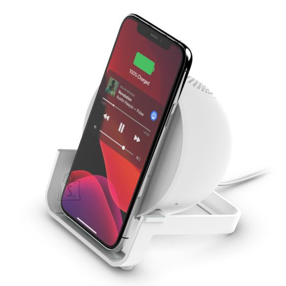 Belkin Belkin Wireless Charging Stand + Speaker BOOST CHARGE White