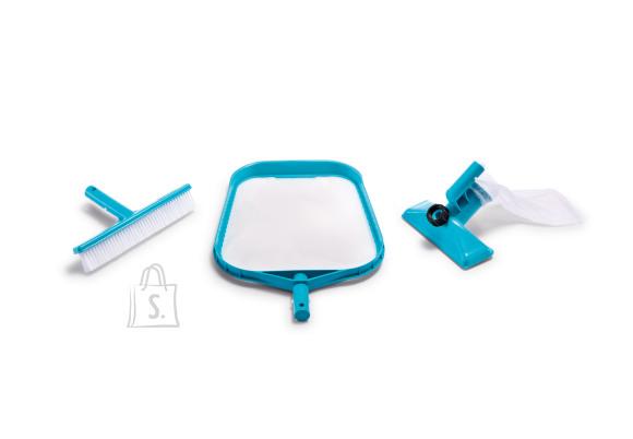 Intex Intex Basic Pool Cleaning Kit (Leaf Grabber/Wall Brush/Vacuum Head)