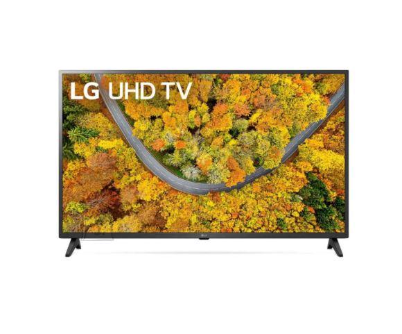 """LG LG 43UP75003LF 43"""" (109 cm), Smart TV, WebOS, 4K UHD, 3840 x 2160, Wi-Fi, DVB-T/T2/C/S/S2, Black"""