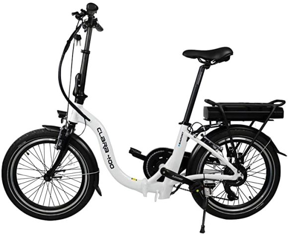 "Blaupunkt Blaupunkt Folding E-bike Speed, Wheel size 20 "", Warranty 24 month(s), 22 kg, Aluminum, White/Black, 70 km"