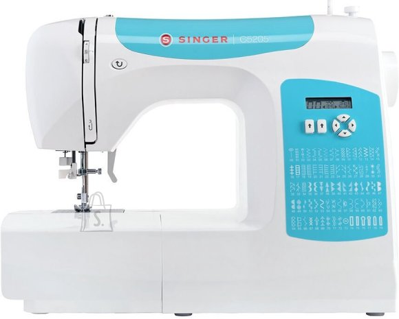 Singer Singer Sewing Machine C5205 Number of stitches 80, Number of buttonholes 1, White