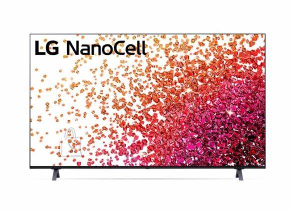 "LG LG 65NANO753PA 65"" (164 cm), Smart TV, WebOS, 4K UHD Nanocell, 3840 x 2160, Wi-Fi, DVB-T/T2/C/S/S2, Black"