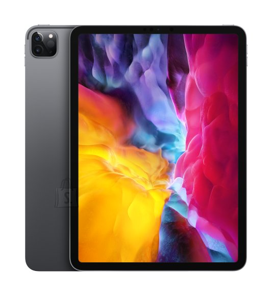"Apple Apple IPad Pro 2020 Wi-Fi+Cellular 11 "", Space Gray, Liquid Retina display, 2388 x 1668, A12Z Bionic chip with 64-bit architecture; Neural Engine; Embedded M12 coprocessor, 6 GB, 1000 GB, 4G, Wi-Fi, Front camera, 7 MP, Rear camera, 12+10 MP, Bluetooth, 5.0, iPadOS"