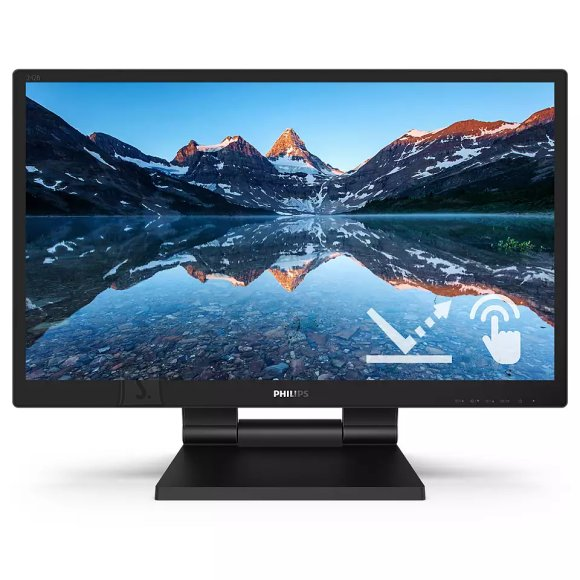 Philips Philips LCD monitor 242B9TL 24, FHD, 1920 x 1080 pixels, Touchscreen, IPS, 16:9, Black, 5 ms, 250 cd/m?, W-LED system