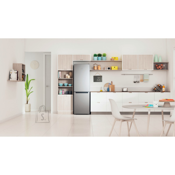 Indesit INDESIT Refrigerator INFC8 TI21X Energy efficiency class F, Free standing, Combi, Height 191.2 cm, No Frost system, Fridge net capacity 231 L, Freezer net capacity 104 L, 40 dB, Stainless steel