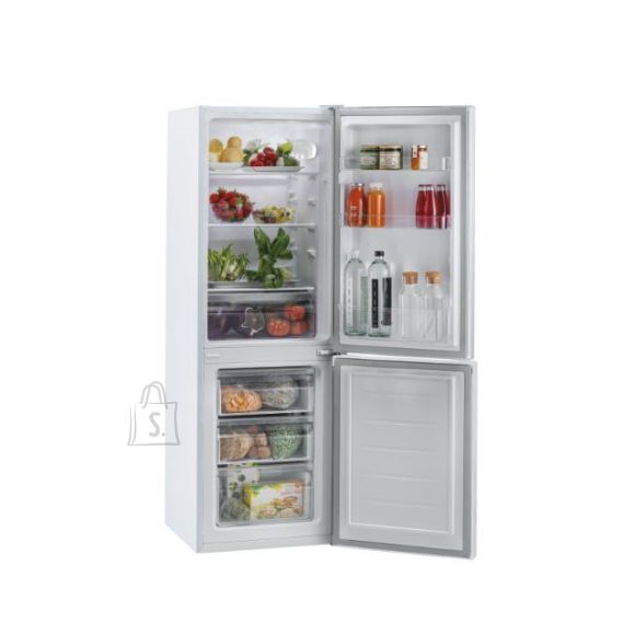 Candy Candy Refrigerator CMCL 4142WN Energy efficiency class F, Free standing, Combi, Height 144 cm, Fridge net capacity 109 L, Freezer net capacity 48 L, 39 dB, White