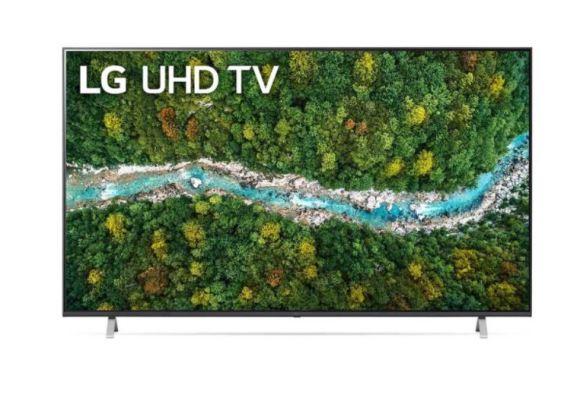 "LG LG 70UP77003LB 70"" (177 cm), Smart TV, WebOS, 4K UHD, 3840 x 2160, Wi-Fi, DVB-T/T2/C/S/S2, Dark grey"