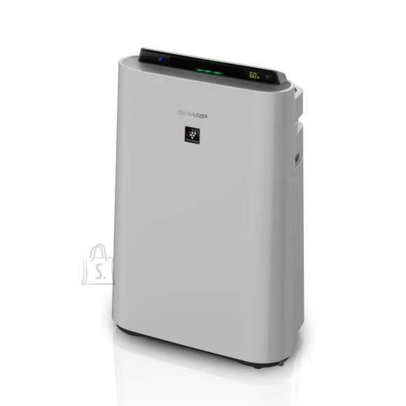 Sharp Sharp Air Purifier with humidifying function UA-HD60E-L 5.5-80 W, Suitable for rooms up to 48 m?, Grey