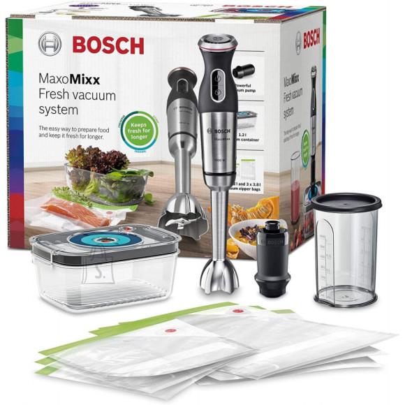 Bosch Bosch Blender MaxoMixx MS8CM61V1 Hand Blender, 1000 W, Number of speeds 12, Turbo mode, Black/Stainless steel