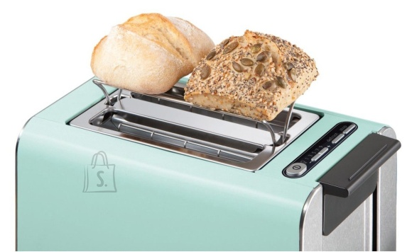 Bosch Bosch Styline Toaster TAT8612  Power 860 W, Number of slots 2, Housing material Stainless Steel, Green