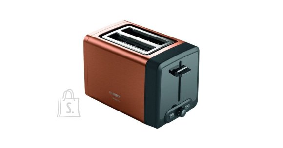 Bosch Bosch DesignLine Toaster TAT4P429 Power 970 W, Number of slots 2, Housing material Stainless Steel, Copper/Black