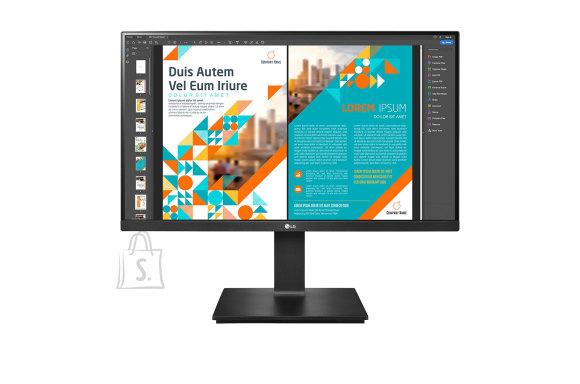 "LG LG Monitor with AMD FreeSync 24QP550-B 23.8 "", IPS, QHD, 2560 x 1440 pixels, 16:9, 5 ms, 300 cd/m?, Black, HDMI ports quantity 2"