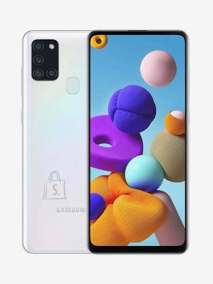 "Samsung Samsung Galaxy A21s Silver, 6.5 "", PLS TFT, 720 x 1600, Exynos 850, Internal RAM 3 GB, 32 GB, microSDXC, Dual SIM, Nano-SIM, 3G, 4G, Android, 10.0"