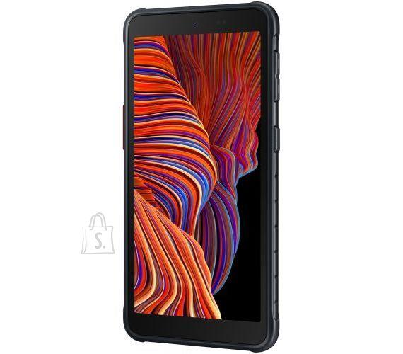 "Samsung Samsung Galaxy XCover  5 G525 Black,  5.3 "", PLS TFT LCD, 1480 x 720, Exynos 850, Internal RAM 4 GB, 64 GB, MicroSD, Dual SIM, Nano-SIM, 3G, 4G, Main camera 16 MP, Secondary camera 5 MP, Android, 11, 3000 mAh"