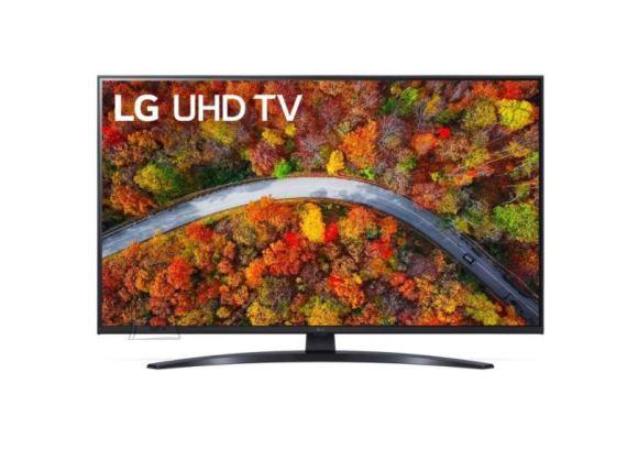 """LG LG 43UP81003LA  43"""" (109 cm), Smart TV, WebOS, 4K UHD, 3840 x 2160, Wi-Fi, DVB-T/T2/C/S/S2, Black"""