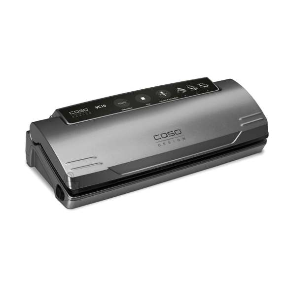 Caso Caso Vacuum sealer VC 10 PlusEdition Power 110 W, Temperature control, Black/Silver