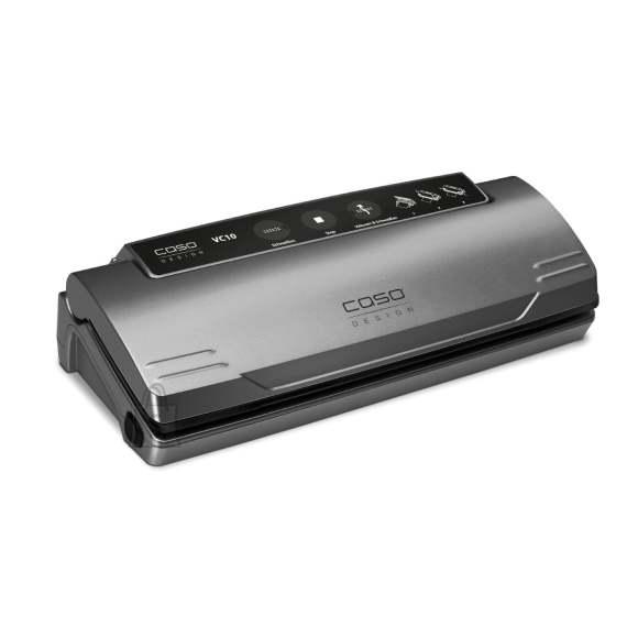 Caso Caso Vacuum sealer VC 10 Winner Set  Power 110 W, Temperature control, Black/Silver
