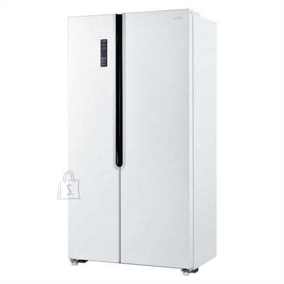 ETA ETA Refrigerator ETA139790000E Energy efficiency class E, Free standing, Side by Side, Height 177 cm, No Frost system, Fridge net capacity 291 L, Freezer net capacity 145 L, Display, 39 dB, White