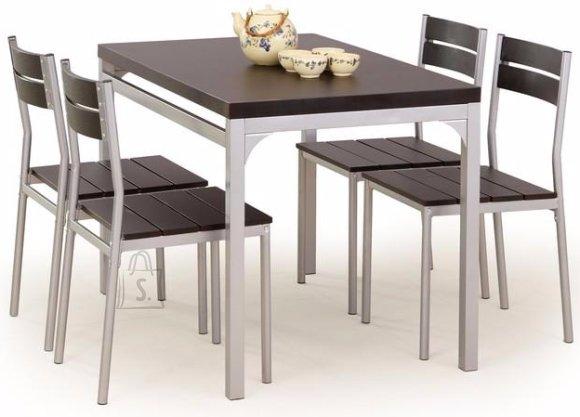 Söögilauakomplekt Malcolm 4-tooliga