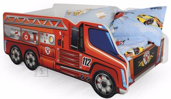 Lastevoodi Fire Truck 74x148 cm