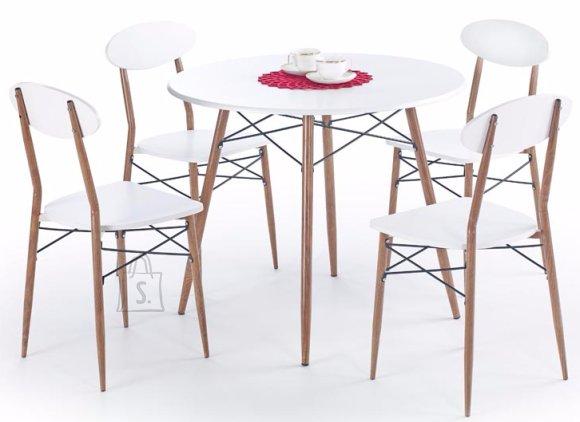 Söögilauakomplekt Record ümar 4-tooliga