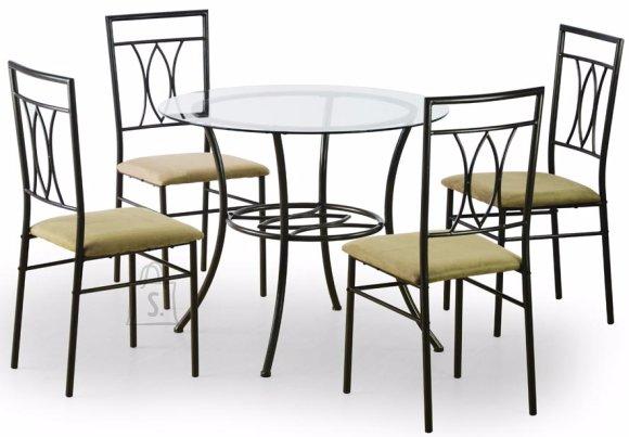 Söögilauakomplekt Merton 4-tooliga