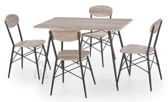 Söögilauakomplekt Kabir 4-tooliga