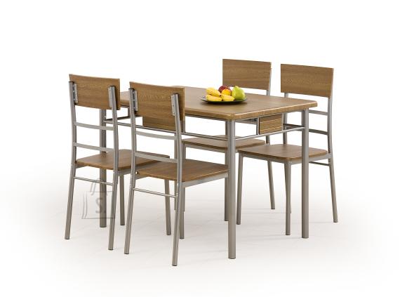 Söögilaua ja toolide komplekt Nataniel pähkel