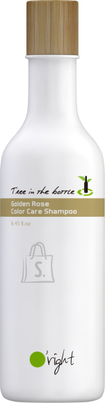 O'right Golden Rose Color Care Shampoo - Tree in the bottle 250ml