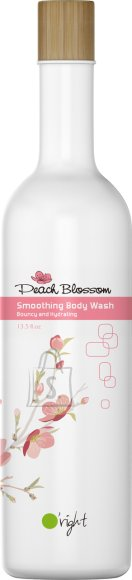 O'right Peach Blossom Smoothing Body Wash 400ml