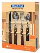 Tramontina söögiriistade komplekt Tradicional 16-osaline