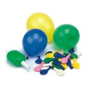 Pap Star õhupallid pumbaga 50 tk