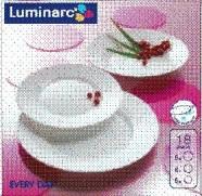 Luminarc lauanõude komplekt Everyday 6-le inimesele