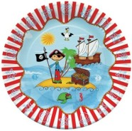 Pap Star papptaldrik Piraat 10 tk