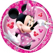Dajar papptaldrikud Minnie 10 tk