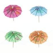 Pap Star vihmavarjuga kokteilitikud 6 tk