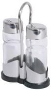 Contacto soola ja pipra komplekt klaasist alusel