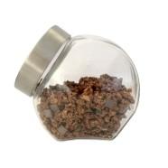 Klaasist säilituspurk metallkaanega 1,2L