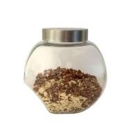 Klaasist säilituspurk metallkaanega 2,3L