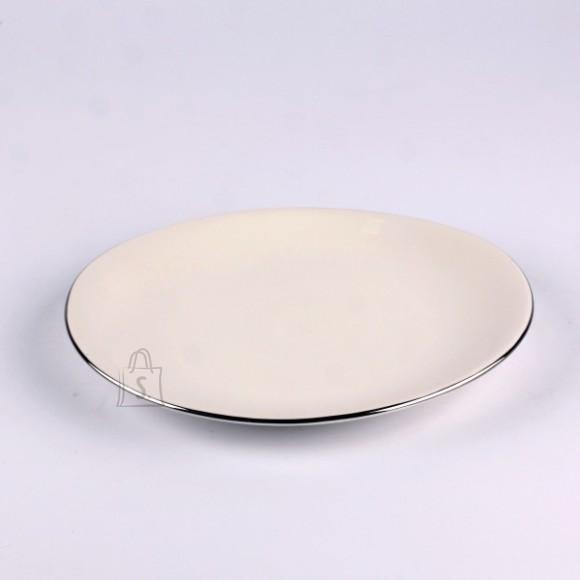 Quality Ceramic desserttaldrik Sense Platinum 18.5 cm