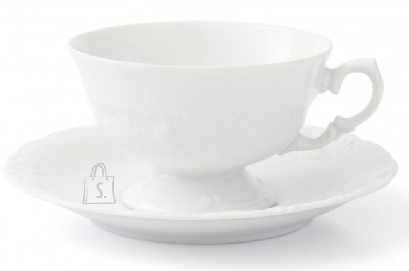 Porcelana Krzysztof tass alustaldrikuga Fryderyka 200ml