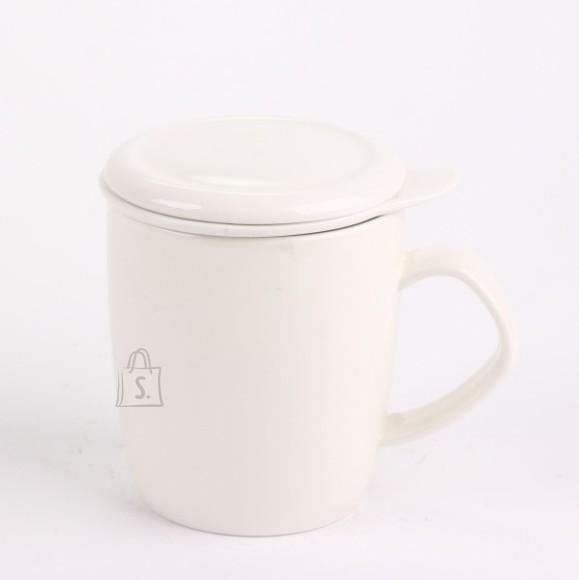 Weiye Ceramics teekruus Veja sõela ja kaanega 400ml