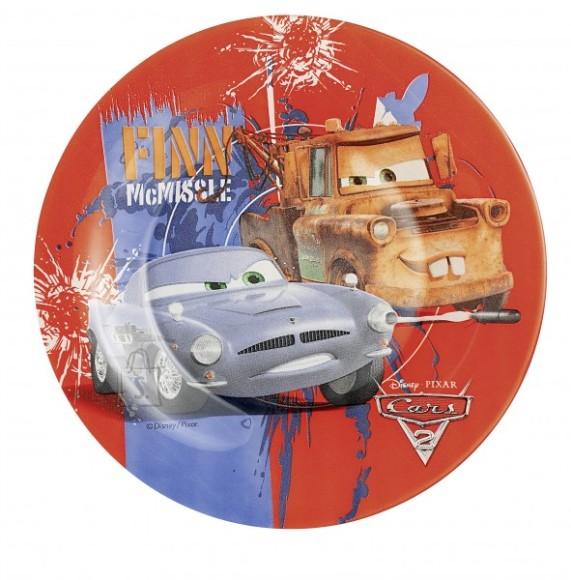 Luminarc laste desserttaldrik Cars 2 19 cm