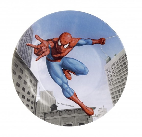 Luminarc laste desserttaldrik Spiderman Street Fight 19 cm
