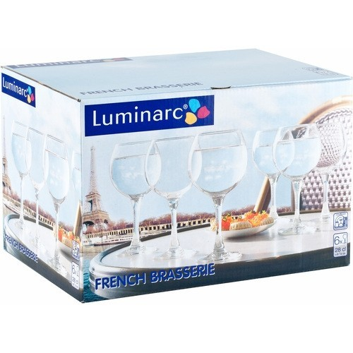 Luminarc veinipokaal French Brasserie 28cl 6tk